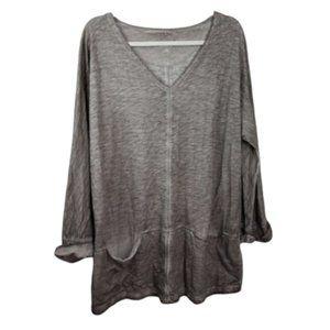 Soft Surroundings Acid Wash Tie Dye Sweatshirt S/M
